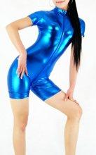 Sexy Shiny Metallic Spandex Zentai Suit/Catsuit Dance Club Wear