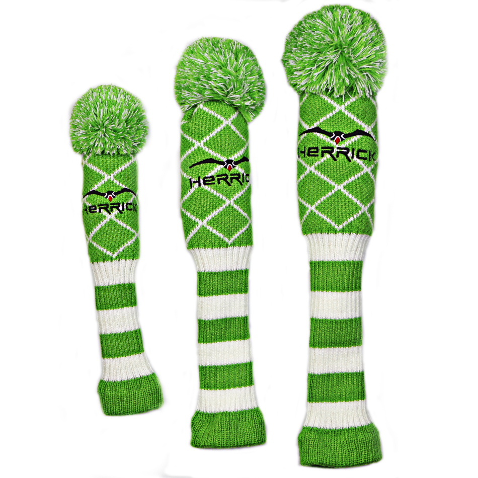 golf clubs headcover Wool Knit Golf Clubs Set Driver NO 3 5 Fairway Wood Head Covers