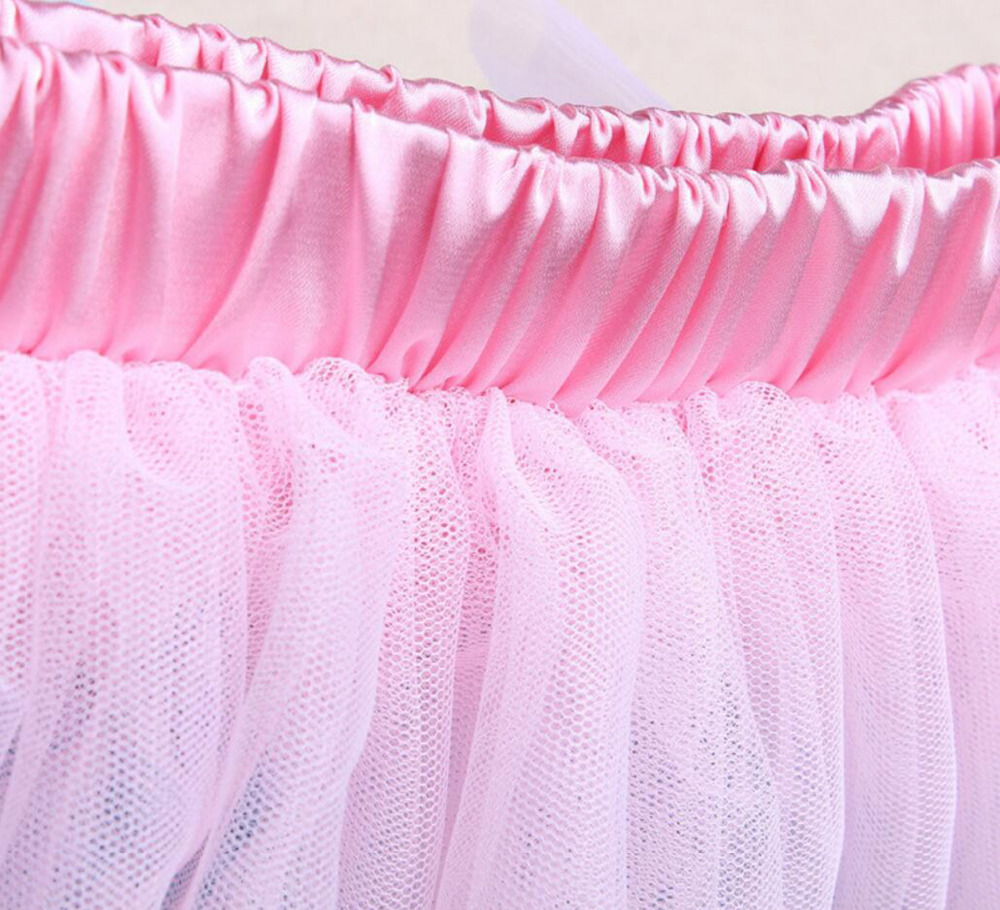 3PCs per sett Pink Purple Long Sleeves Baby Girl 1st Birthday Tutu - Baby klær - Bilde 2