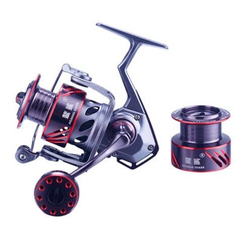 aojiangshark ck3000 todos taxa de metal spinning reel fishing 9 1bb relacao 5 2 1