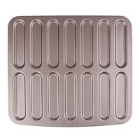 12/14 Cavity Round Muffin Cup Cake Pan 3D Non-stick Easy Release and clean Bakeware With Gift Box