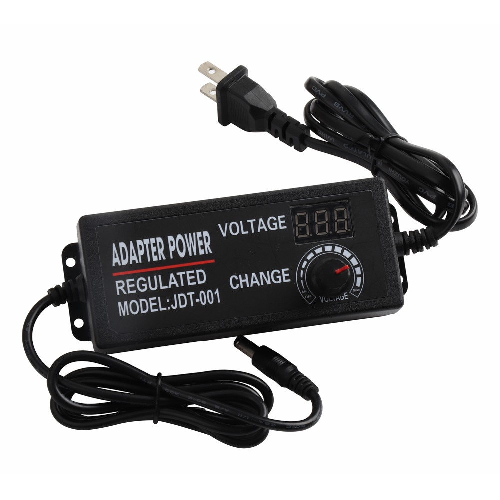 Voltage adjustable LED Power Supply AC 110V - 240V to DC 9-24V 3A 12V 24V lighting transformers LED driver Adapter IL bringsmart motor power adapter 100 240v ac to 12v 24v dc power adapter ac dc 12v 3a motor power supply 24v 3a 24v 2a motor