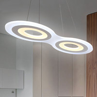 New Modern Pendant Lights For Dinning Room Living Room Restaurant Kitchen Lights Luminaire Suspended Acrylic Light