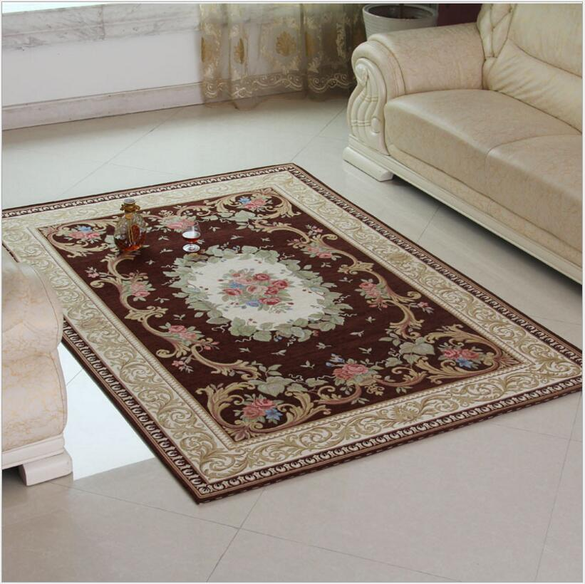 240X330CM European Style Carpet Big Living Room Carpet Kid Room Floor Mat Thick Bedroom Rug For Home Decorate and Prayer Blanket