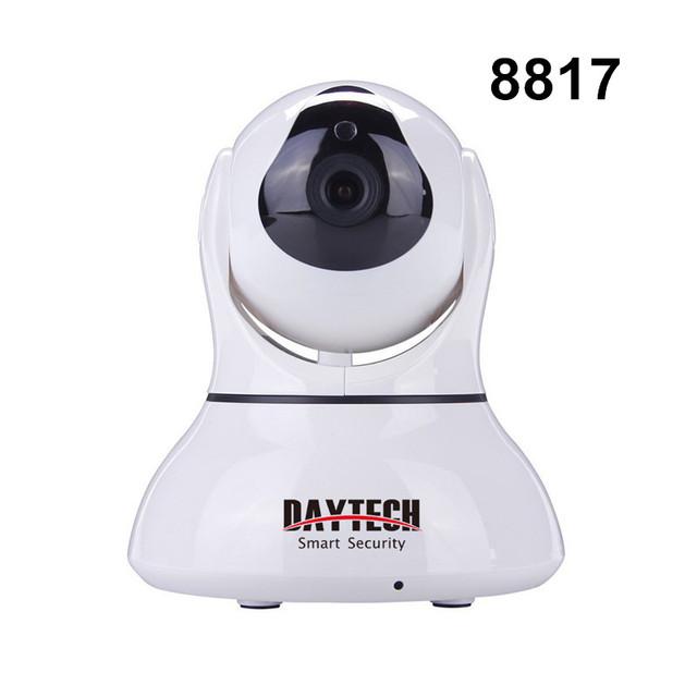 Daytech casa de segurança câmera ip wi-fi visão noturna infravermelha câmera de duas vias de intercomunicação 720 p bebê câmera motion detectar dt-c8817