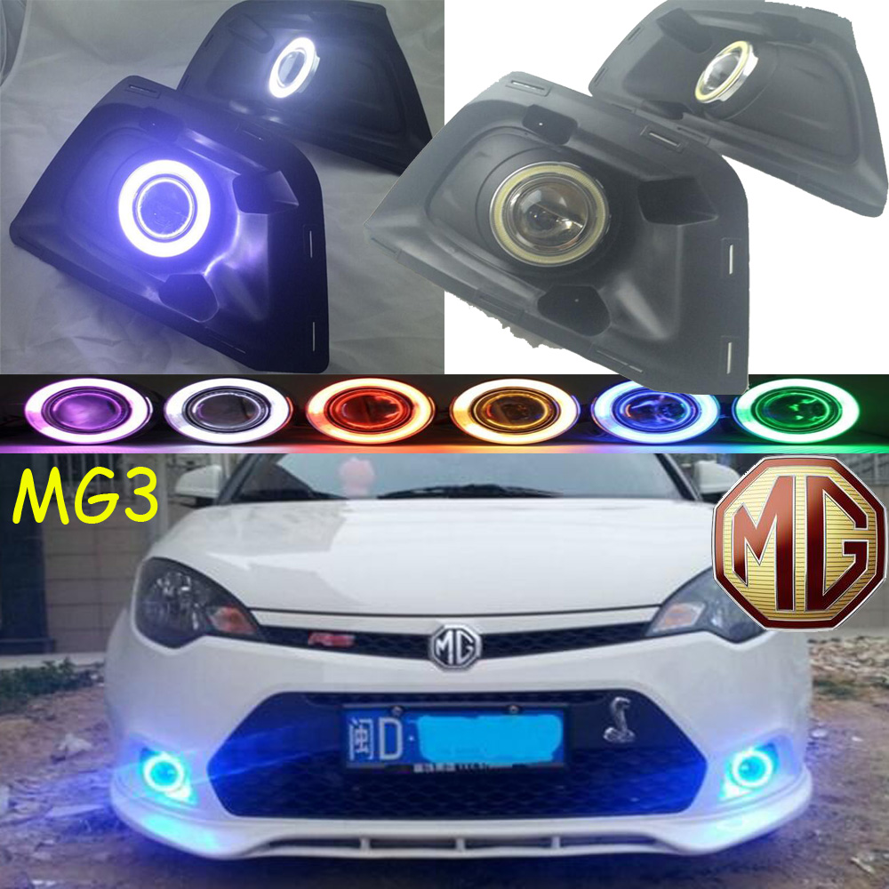цена на MG3 fog light 2009~2013 Free ship!MG 3 daytime light,2ps/set+wire ON/OFF:Halogen/HID XENON+Ballast,MG3
