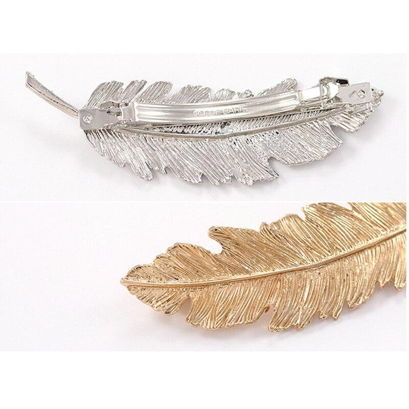 HTB1aZ5TKVXXXXbxXVXXq6xXFXXXd Leaf Shape Metal Clip Hair Barrette