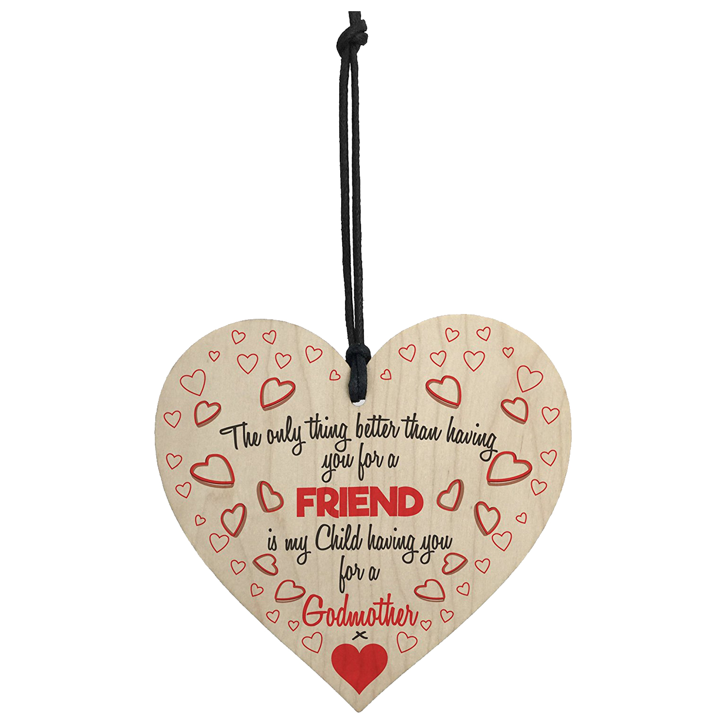 Godmother gifts Best Blessed With Godmothers Love Wooden