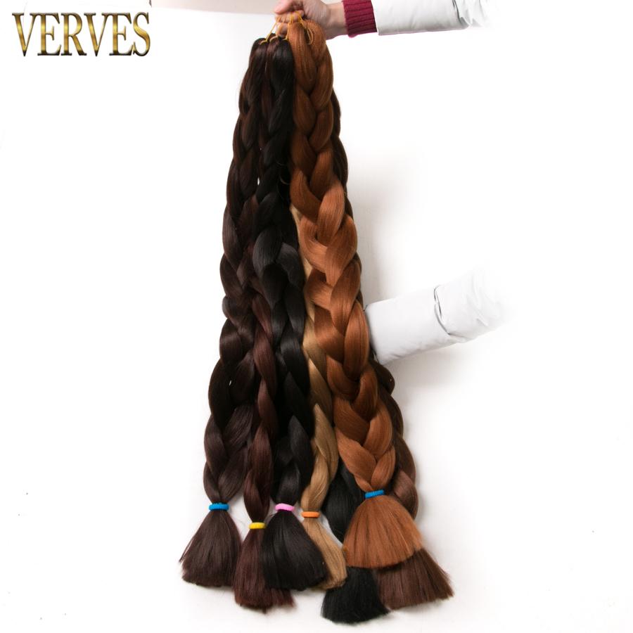 verves синтетические канекалон плетение волос 82 дюймов 165 г/шт. Джамбо кос объемных африканских волос крючком наращивание волос, яки текстуры