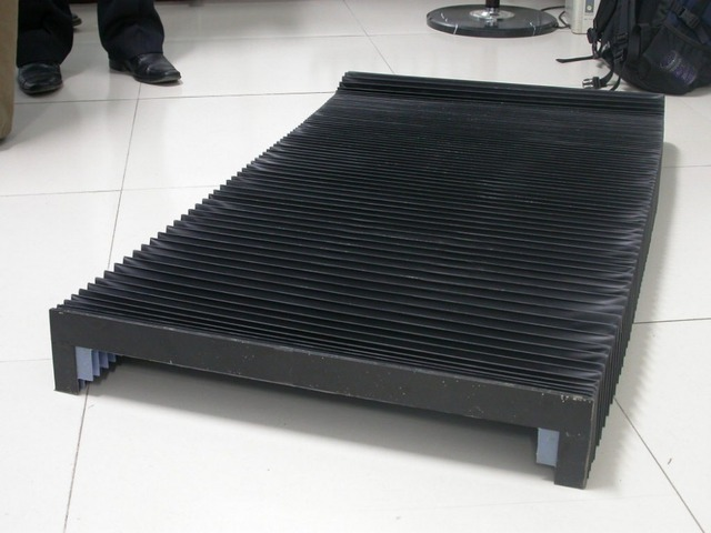 Schutzhülle der faltenbalg für werkzeugmaschinen T12 formen, Länge 800mm, innen breite 170mm x höhe 35