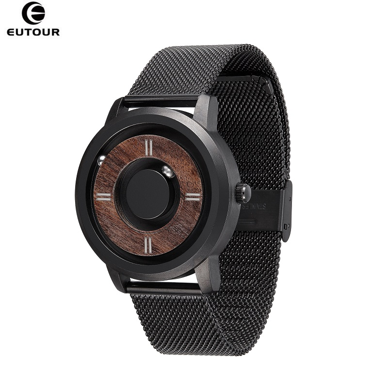 2019 EUTOUR Magnetic Drive Mens Watches Top Brand Luxury Quartz Watch Women Man Wood Stainless Steel Unisex WristWatches2019 EUTOUR Magnetic Drive Mens Watches Top Brand Luxury Quartz Watch Women Man Wood Stainless Steel Unisex WristWatches