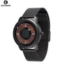2019 EUTOUR Magnetic Drive Mens Watches Top Brand Luxury Quartz Watch