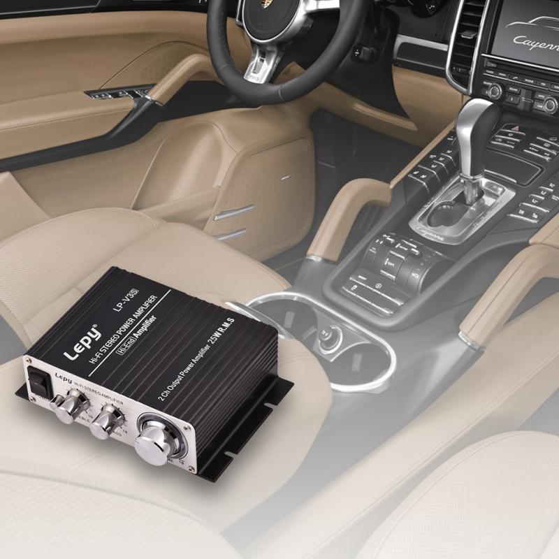 Original für Lepy lp-838 lp-808 A68 A7 V3 V3S Power Verstärker Audio Stereo Amplificador Bass Lautsprecher booster für Auto Radio MP3