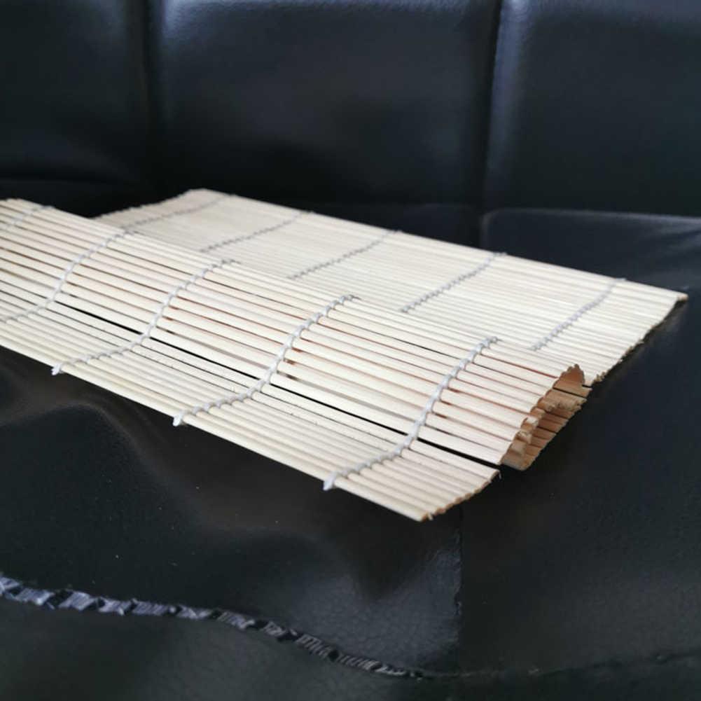 Bambusa non-stick Sushi mata zwijana kurtyna ryżu rolki kurczaka DIY narzędzia kuchenne