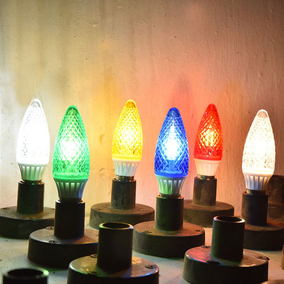 E14 3W 5W 2835 SMD 15LEDs 25Leds Energy Saving Chandelier Candle Light Bulb Lamp 200Lumen Non Dimmable Red Green Blue Orange
