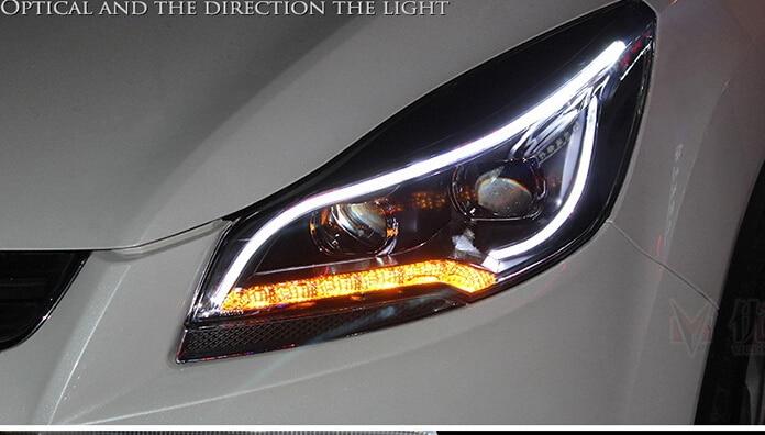 светодиодные огни для ford kuga 2013