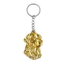 Золотой брелок ремешок популярный ручной работы изящный резной