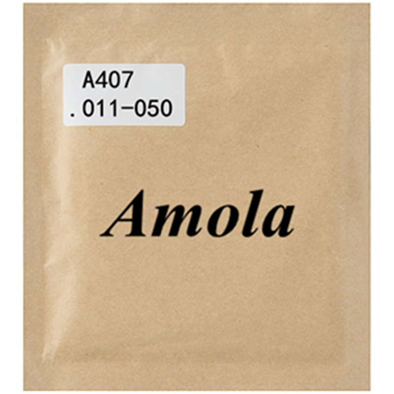 Amola Acoustic Guitar Strings A407 Colorful Multi ainbow Wound Guitar Accessories 6 strings/set savarez 510 cantiga series alliance cantiga normal high tension classical guitar strings full set 510arj