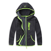يندبروف طفل الفتيان السترات معطف الطفل الدافئة القطبية الصوف الأطفال ملابس خارجية لمدة 3 14 سنة ربيع الخريف