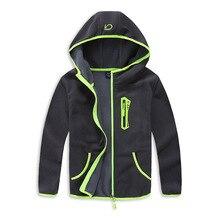 Windproof Baby Boys Jackets 아동 코트 따뜻한 폴라 플리스 아동용 겉옷 3 14 세 봄 가을