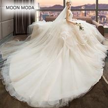 V-neck vestido de noiva simples 2018 sexy plus size A Linha capina vestido sereia do vestido de casamento vestido de noiva foto real mariage