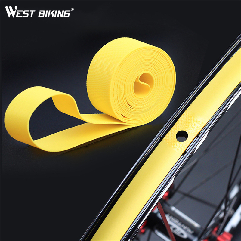 WEST BIKING 2 Pcs Tire Tape Mountain Road Bike Cycling Anti-stab Tire Pad For 26 27.5 <font><b>29</b></font> Inch 700C MTB Bicycle Rim Tapes Strips image