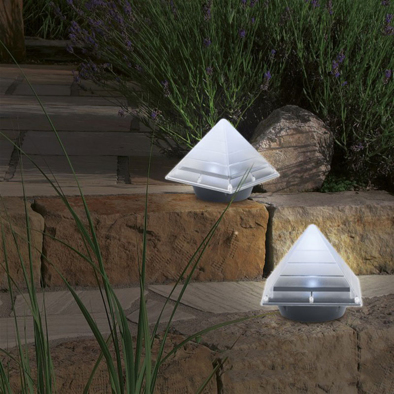 Led Lamps Solar Power Underground Lamp Outdoor Waterproof Garden Path Lawn Night Light Mdj998