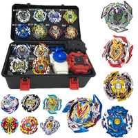 hot Top burst Set beyblade Box with Launcher Bey Metal Fusion blades Toys For Children Spinning Top