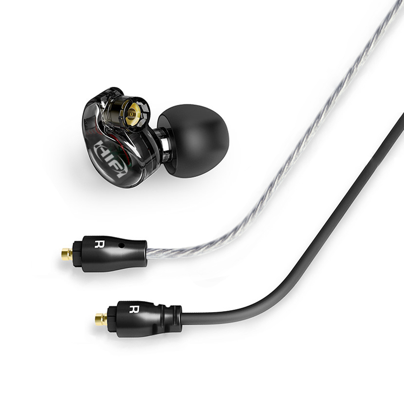 New HIFI Union A8 Dynamic Unit In Ear Earphone DIY HIFI Earphone With MMCX Calbe Bass Earphone Free Shipping