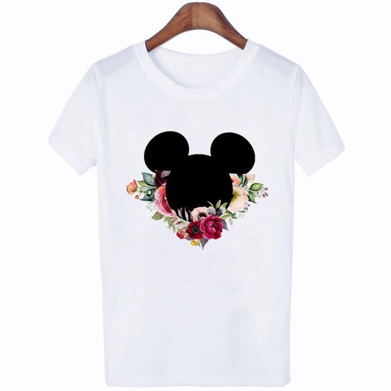 ZOGANKIN Casual Women T Shirt Summer Female T-shirt Print T-shirts for Funny Shirts Harajuku Tee Round Neck Tees