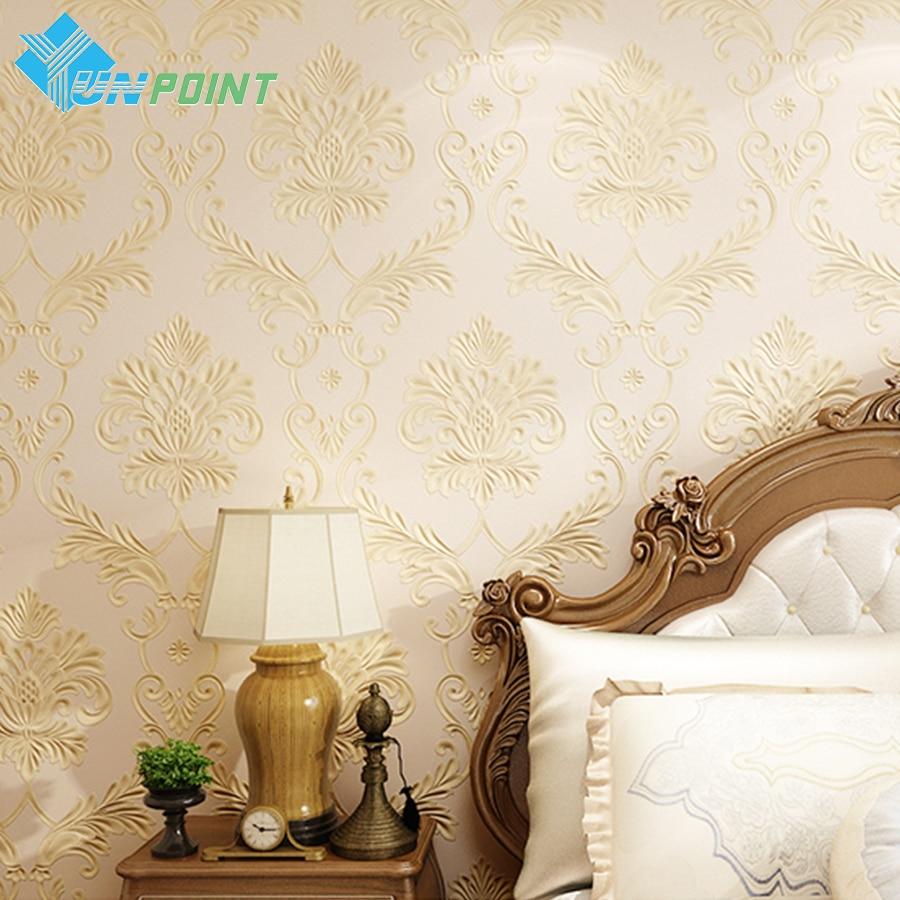 Compra papel tapiz de color beige online al por mayor de for Murales de papel para pared