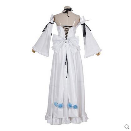 Yeni Anime Pandora Kalpler Cosplay Alice Beyaz Tavşan Cadılar - Kostümler - Fotoğraf 4