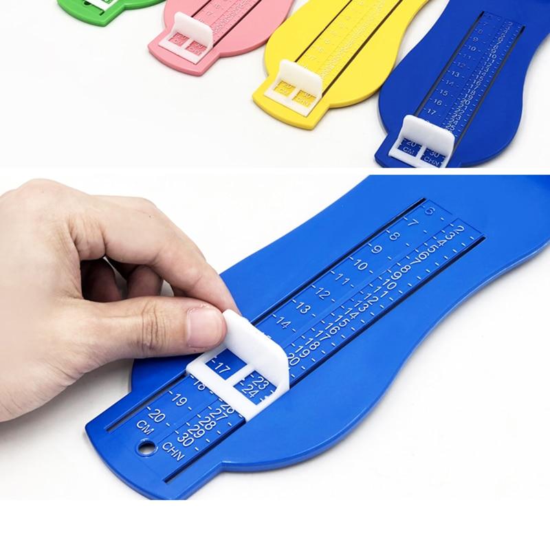 Baby Toddler Kids Foot Measuring Gauge Shoe Sizer Measure Tool Size