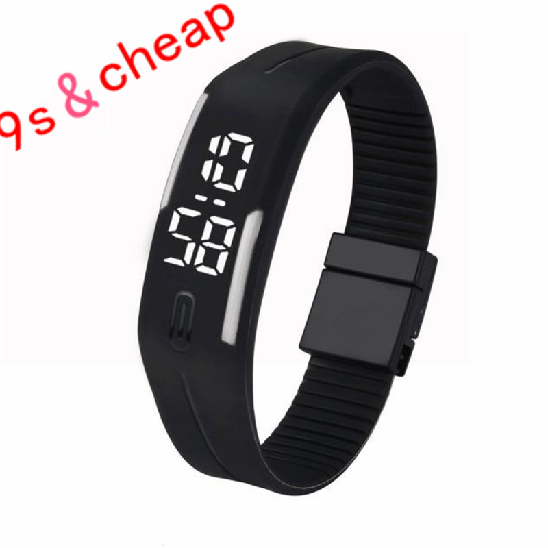 Mens Womens Watches Rubber LED Watch Date Sports Bracelet Digital Wrist Watch Brand Unisex New Free Shipping G20
