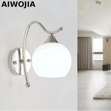 Modern 4W led wall light bathroom high quality Aluminum Case, Acrylic Crystal Wall Lamp bedroom living room house