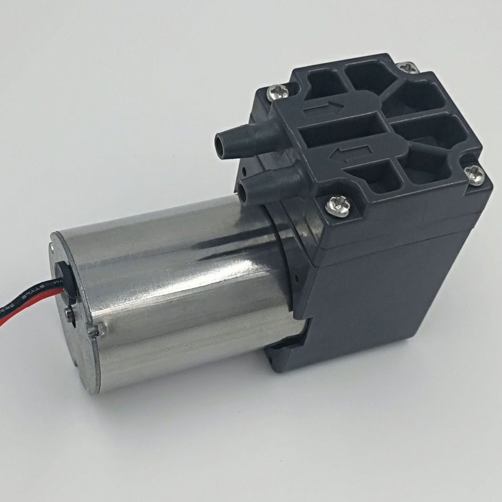 above 5L/M flow brushless DC diaphragm 80kpa pressure micro compressor air 3l m electric brushless motor diaphragm dc air compressor 24v