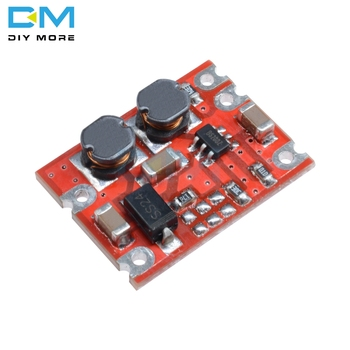 5PCS S09 DC-DC Automatic Buck Boost Power Step Up Down Board Module Input 3V-15V Output 3.3V/5V Electronic DIY PCB