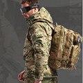 Ao ar livre Camuflagem Do Exército Militar Tático Mochila de Acampamento Caminhadas Sacos de Desporto Caminhadas Pacotes de Viagem Mochilas de Lona Pacotes de Assalto