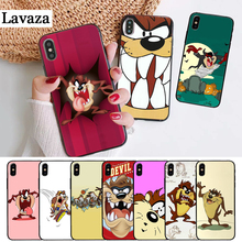 Lavaza Looney Tunes Tasmanian Devil Silicone Case for iPhone 5 5S 6 6S Plus 7 8 11 Pro X XS Max XR