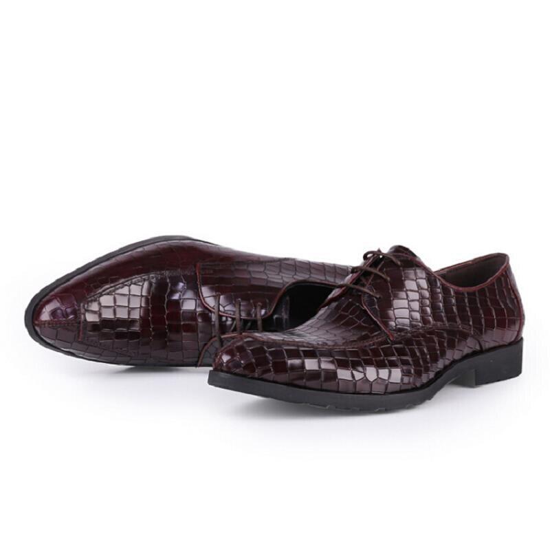 Negocios Oficina Pisos Lujo De Hombres Clásico En Punta Derby rojo Mycolen Zapatos Cómoda Negro Cuero Negro WEn7y1Tc