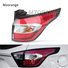 лучшая цена MZORANGE 1 PCS Outer Tail Brake Light for Ford Kuga 2017-2019 LED New Focus Sedan DRL+Brake+Park+Signal Tail Light Rear Lamp