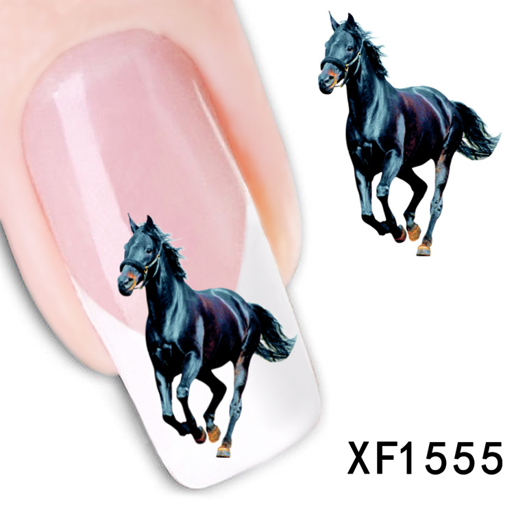 2 Sheet Manufacturers Accusing Xf Water Horse Sticker Abroad Cheong