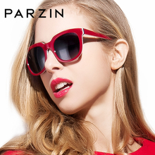 PARZIN Classic Vintage Steampunk Women Driving Sunglasses So Real Brand Designer Ladies Spectacles Hot Sale 9626