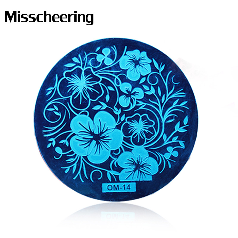 1pcs New 60Designs Nail Art Image Plates Stamping Stamper Scraper Set DIY Polish Design Print Template Nail Tools