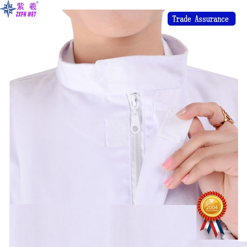 Factory Wholesale Spring&Autumn Working Clothes for Food Industry