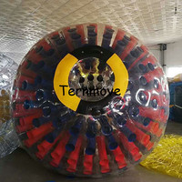 human hamster ball Air Human Hamster Ball Inflatable Rolling Zorb Ball Colourful Inflatable Water Roller