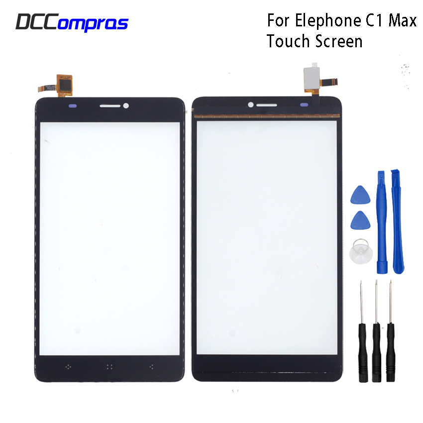Original Touch Screen For Elephone C1 Max Touch Panel Glass Replacement For Elephone C1 Max Touch Panel Free ToolsOriginal Touch Screen For Elephone C1 Max Touch Panel Glass Replacement For Elephone C1 Max Touch Panel Free Tools