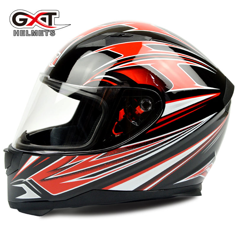 GXT motorcycle helmet full cover full face four seasons safe chinstrap collar