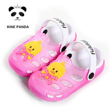 KINE PANDA Kids Mules Slides Clogs Boys Slippers Girls Sandals Duck Beach Child Shoes The Octonauts 1 2 3 4 5 6 7 Years Old