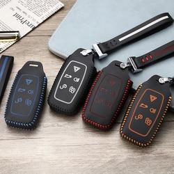LUCKEASY For Land Rover odkryj 2010 2011 Range Rover evoque 2012 torba na klucze samochodowe etui na portfel etui na klucze|Etui na kluczyki samochodowe|Samochody i motocykle -